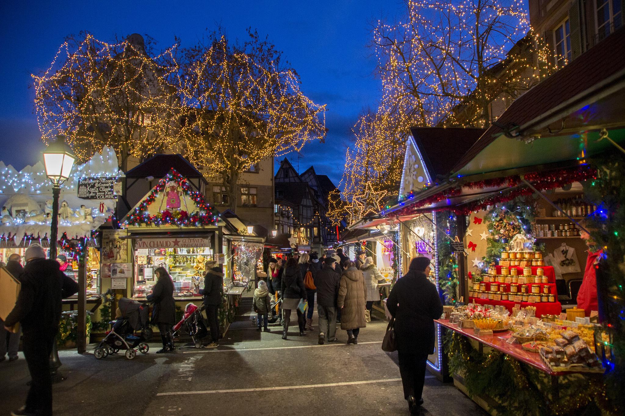 Colmar Weihnachtsmarkt.La Magie De Noël à Colmar Sechs Märchenhafte Weihnachtsmärkte