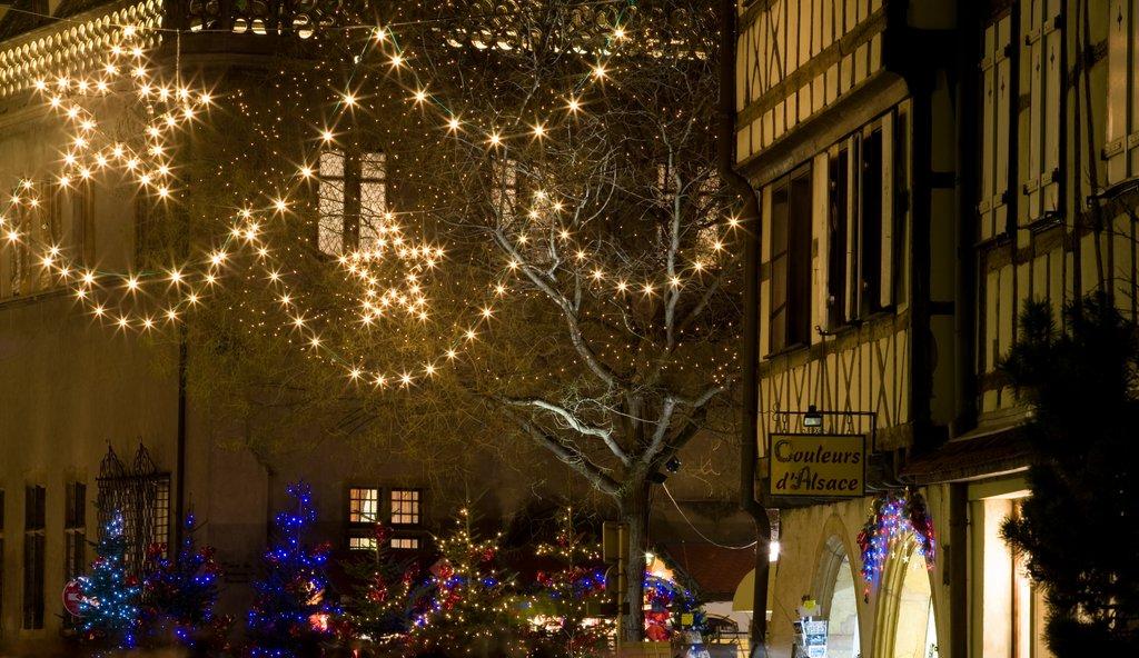 Illuminations au Koïfhus et à la place de l'Ancienne douane