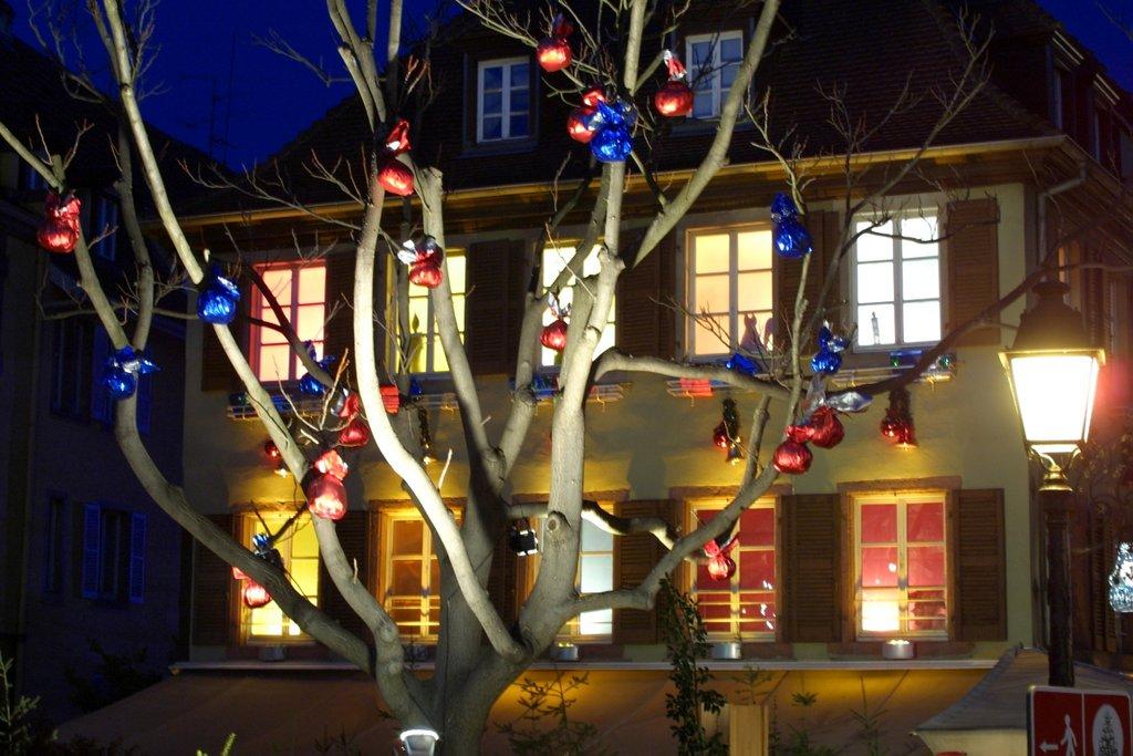 Arbre décoré près la Petite Venise
