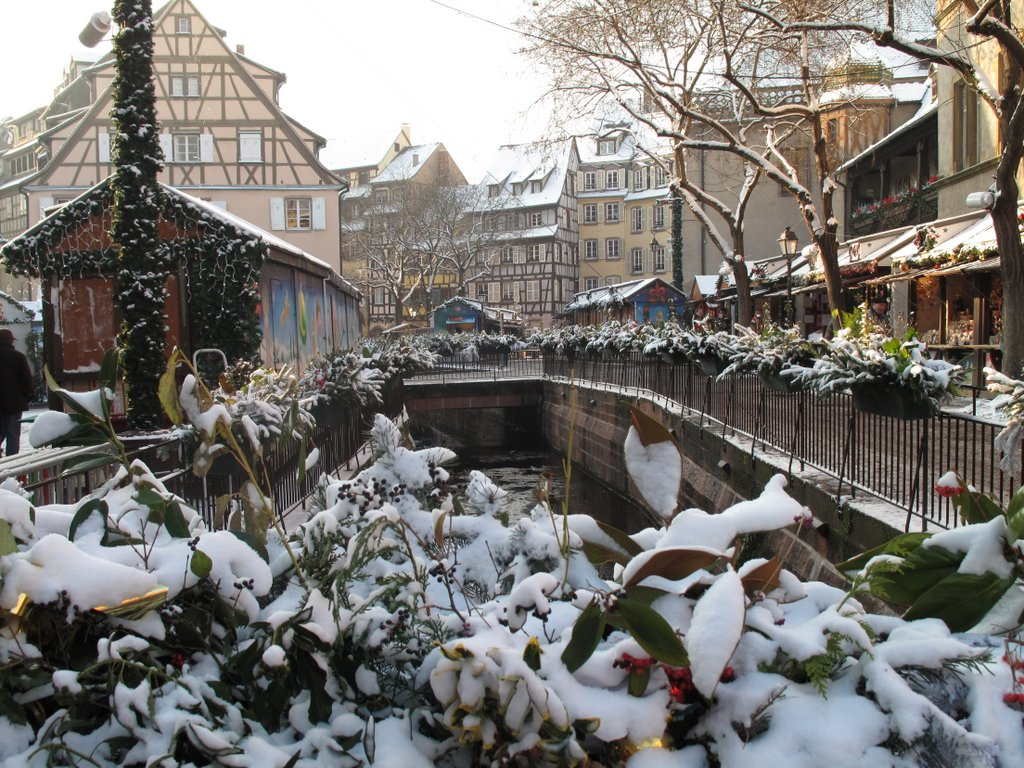 Marché de Noël, place de l'Ancienne Douane