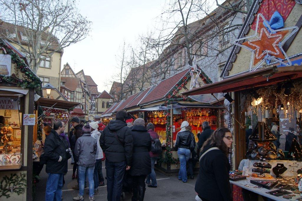 Marché de Noël de la place Jeanne d'Arc