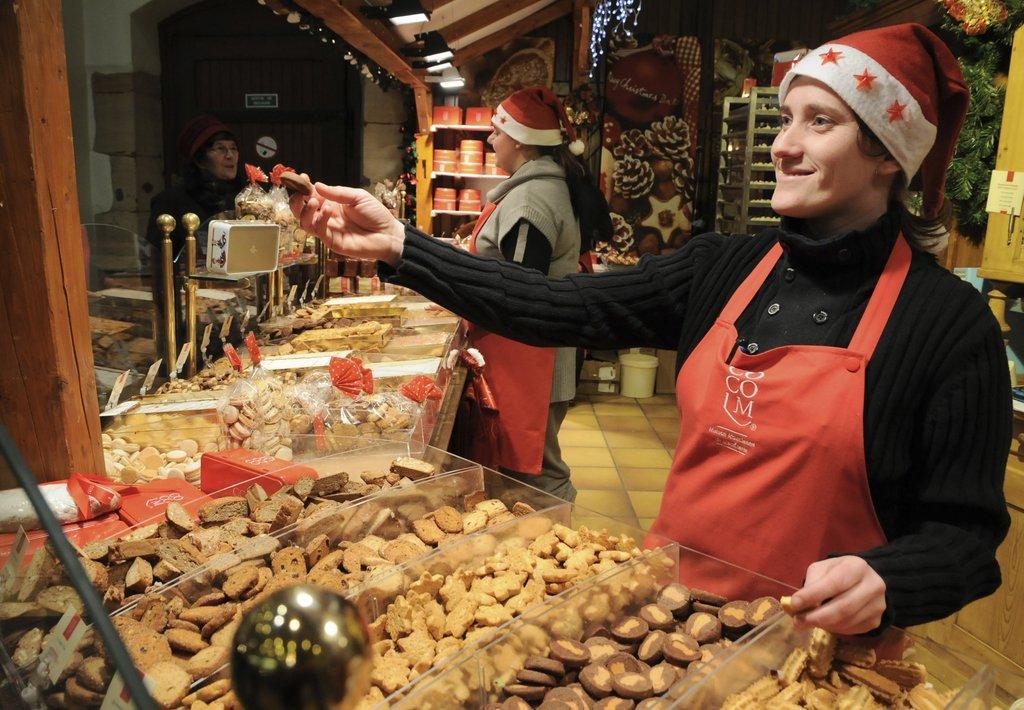 Bredele au marché de Noël du Koïfhus