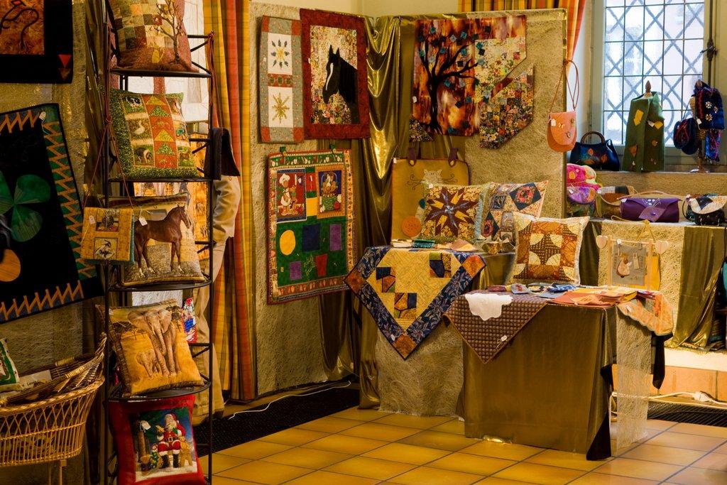 Stand au marché de Noël du Koïfhus