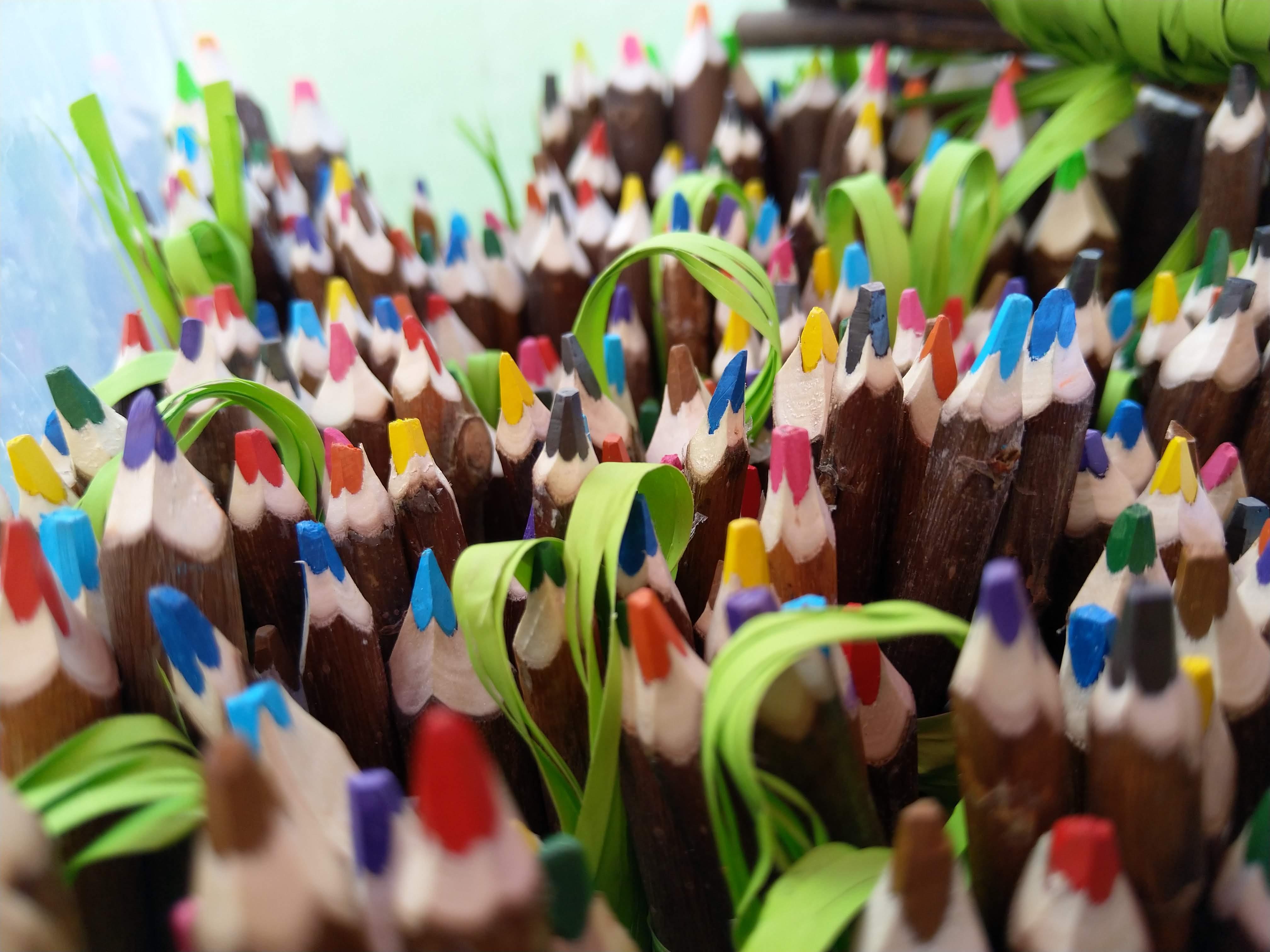 Mes petits crayons